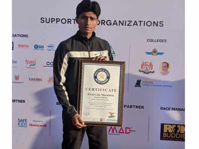 Shashwat Shukla sets new world record in barefoot running.png